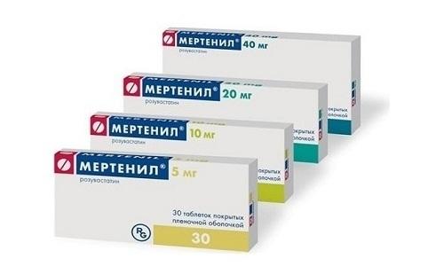 Мертенил используют для терапии и предупреждения атеросклероза и иных патологий