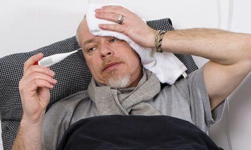 В более тяжелых случаях передозировки Тромбиталом возможно сильное повышение температуры