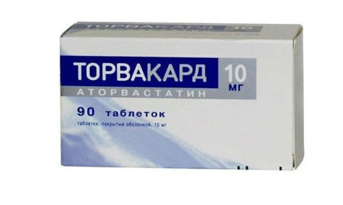 Торвакард - лекарственный препарат, используемый в лечении заболеваний сердечно-сосудистой системы