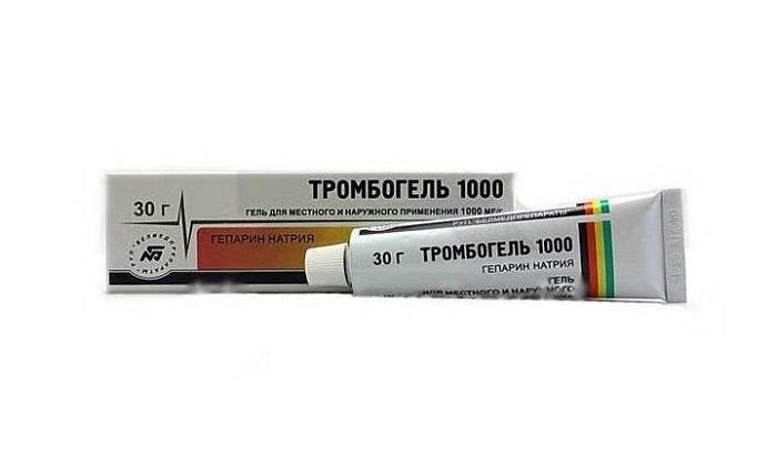 Как правильно использовать Тромбогель при варикозе