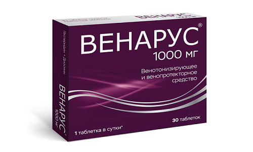 Венарус 1000 предотвращает развитие осложнений при заболеваниях вен