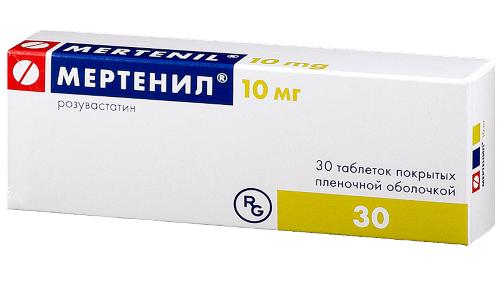 Мертенил 10 - это лекарственное средство, разработанное для снижения холестерина