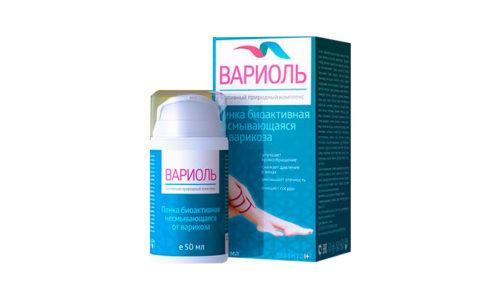 Variol - пенка от варикоза помогает справиться с внешними проявлениями патологии, восстановить кровообращение, полностью избавиться от симптомов заболевания