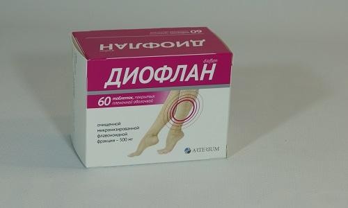 Диофлан - лекарственный препарат, который назначается при расширении вен