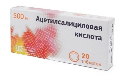 При сочетания лекарства с ацетилсалициловой кислотой могут появиться побочные реакции со стороны сердечно-сосудистой системы