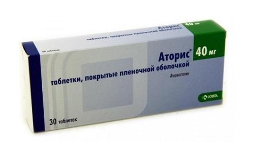 Препарат Аторис 40 является гиполипидемическим средством, которое позволяет предотвратить развитие сердечно-сосудистых патологий