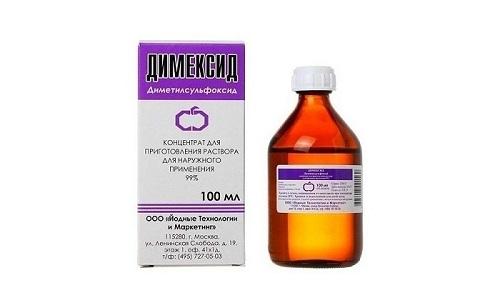 Используют Димексид 99 в дерматологии, а еще для устранения болей в суставах и мышцах