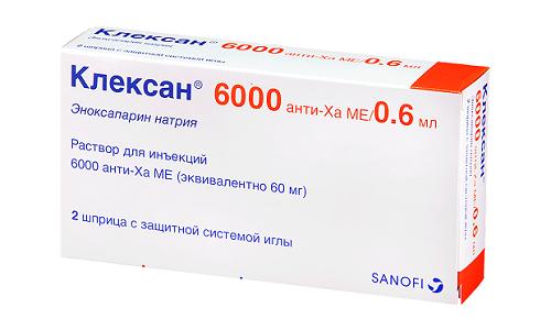 Эноксапарин натрия используется как профилактическое средство в случае повышенного риска развития тромбоэмболии
