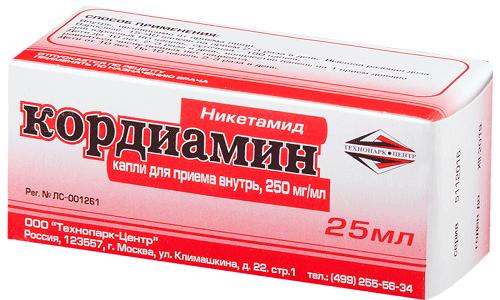 При передозировке Ксантинола Никотинатом больному нужно дать препарат, повышающий давление, например Кордиамин