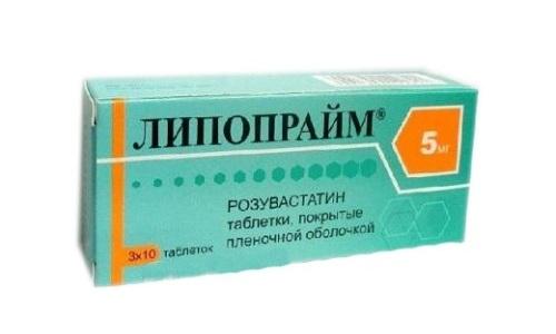 Для нормализации уровня холестерина в крови используют препарат Липопрайм