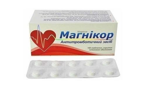 При проблемах с сосудами используют комбинированный препарат Магникор