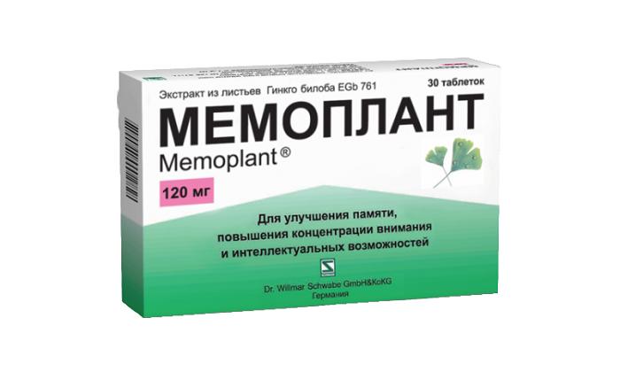 Как правильно использовать препарат Мемоплант 120