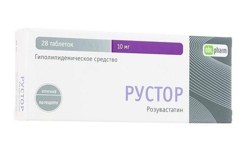 Эффективным профилактическим препаратом сердечно-сосудистых заболеваний является Рустор