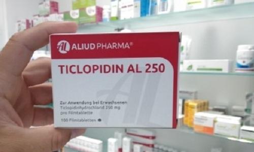 Тиклопидин используют для лечения заболеваний, вызванных образованием тромбов