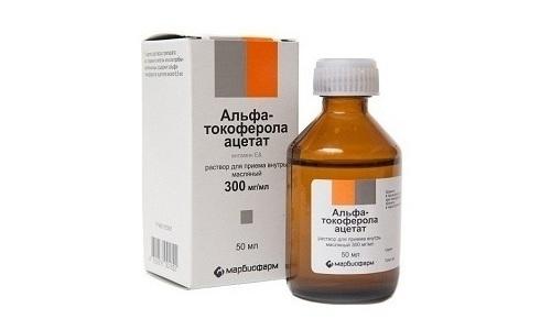 Токоферола ацетат применяется для лечения заболеваний внутренних органов, вегетативных расстройств, в косметологии