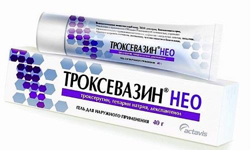 Троксевазин Нео применяется для лечения заболеваний венозных сосудов