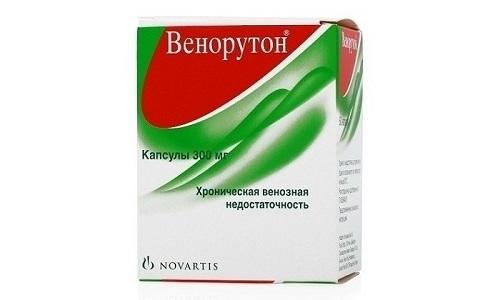 Рутозид, который содержится в препарат Венорутон, оказывает благотворное действие на кровеносные сосуды