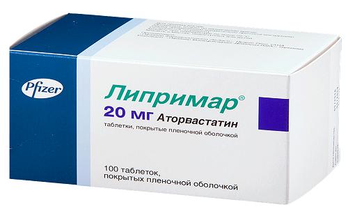 Липримар 20 - это препарат из группы статинов, предназначенный для устранения нарушений жирового обмена, снижения факторов риска развития ССЗ
