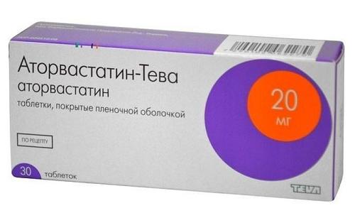 Аторвастатин-Тева применяется для нормализации уровня холестерина