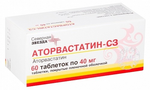 Гиполипидемический медикамент Аторвастатин 40 назначается для нормализации уровня холестерина
