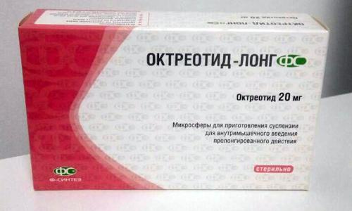 Октреотид-лонг является лекарственным средством, которое используется в терапии гастроэнтерологических патологий