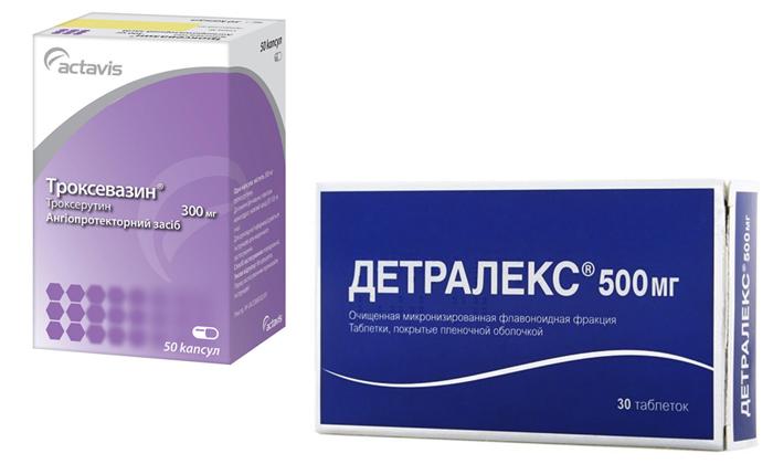 Что выбрать: Детралекс или Троксевазин
