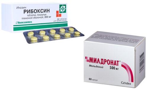 Милдронат и Рибоксин были созданы для лечения больных с сердечно-сосудистыми заболеваниями