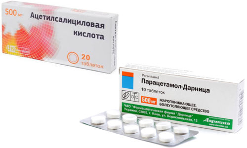 Парацетамол и ацетилсалициловая кислота (Аспирин) - это вещества и одноименные препараты, которые чаще всего принимают самостоятельно для симптоматического лечения при простудах, ОРЗ или гриппе