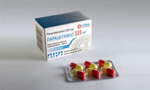 Для понижения температуры тела целесообразно использовать Парацетамол
