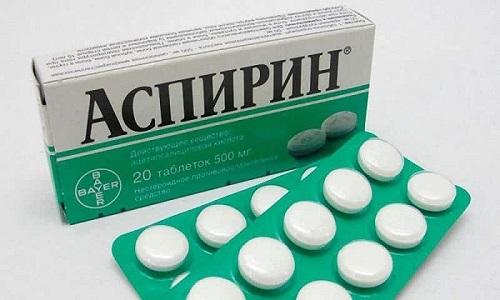 Аспирин - снижает интенсивность воспалительного и тромбообразующего процессов, вызванных высокой температурой