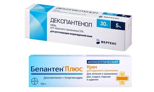 Бепантен или Декспантенол используют для терапии кожи и заживления ран