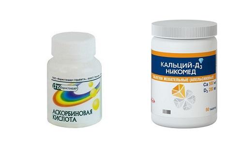 Аскорбиновая кислота и кальций эффективно восстанавливают защитные функции организма и снижают риск развития осложнений после перенесенного вирусного заболевания