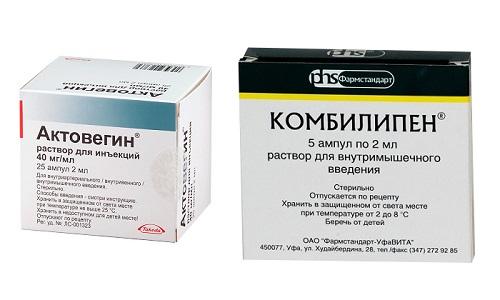 В медицинской практике Актовегин и Комбилипен часто назначают совместно