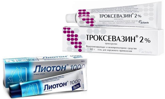 Что выбрать: Троксевазин или Лиотон