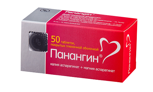Панангин содержит большое количество магния, необходимого для сердца