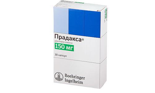 После операции назначают по 220 мг Парадакса в сутки