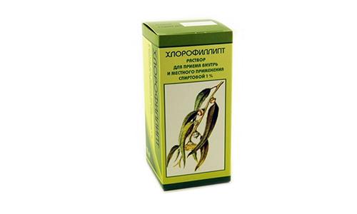 Хлорофиллипт и димексид для суставов