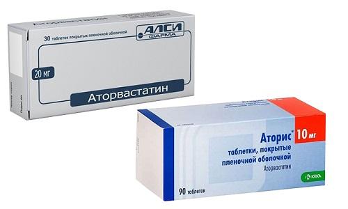 Для стабилизации уровня триглицеридов, холестерина и липидов в кровяной сыворотке применяют Аторис или Аторвастатин