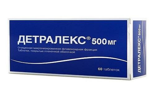 Препарат Детралекс дозировкой 500 мг выпускается только в таблетках