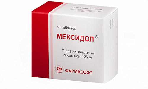 Мексидол способствует увеличению интенсивности кровоснабжения мозга и ускоряет обмен питательными веществами в нем